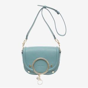 See by CHLOE Mara Shoulder Bag(MINERAL BLUE)